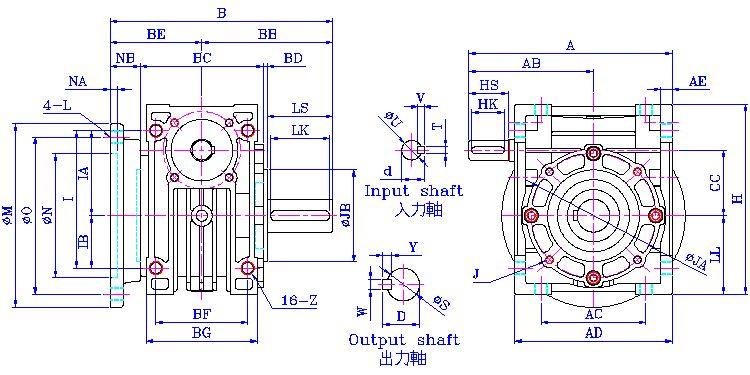铝的机械图纸符号